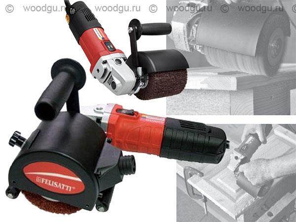 инструмент для браширования щеточная машинка Felisatti AGF 110/1010E