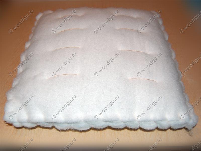 Подушка для стула из синтепона своими руками 48