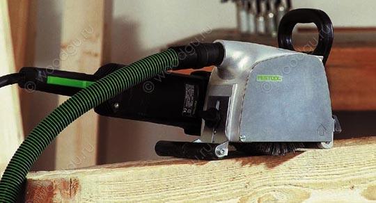 инструмент для браширования щеточная машинка FESTOOL RUSTOFIX RAS 180
